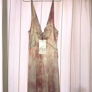 Zara Dresses - Zara Tie Dye Maxi Dress
